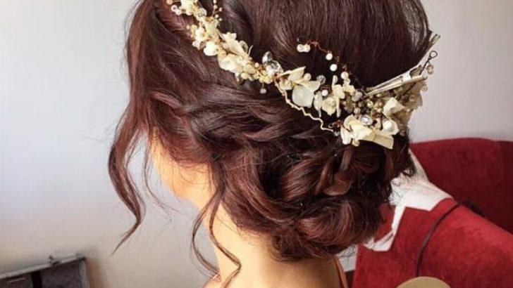 Gelin Saçı En Güzel Gelin Saç Modelleri