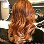 Kızıl Kıvırcık Saç Modelleri - Red Curly Hair Color - Hairstyles - 2