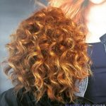 Kızıl Kıvırcık Saç Modelleri - Red Curly Hair Color - Hairstyles - 4