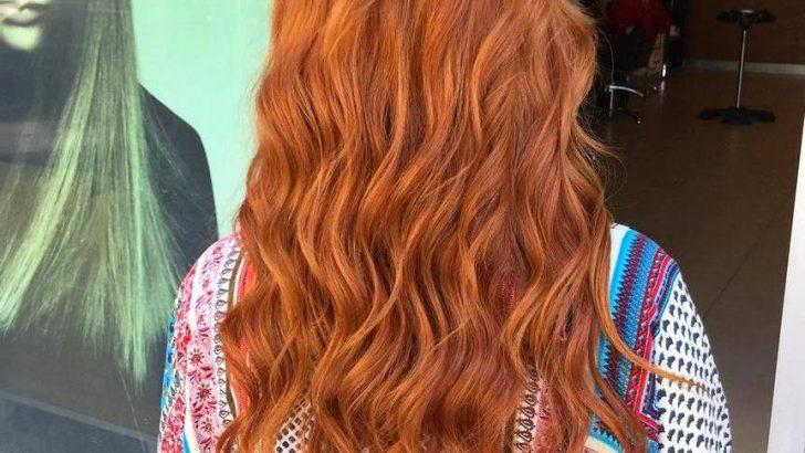 Kızıl Ve Kıvırcık Saç Modelleri Önerileri