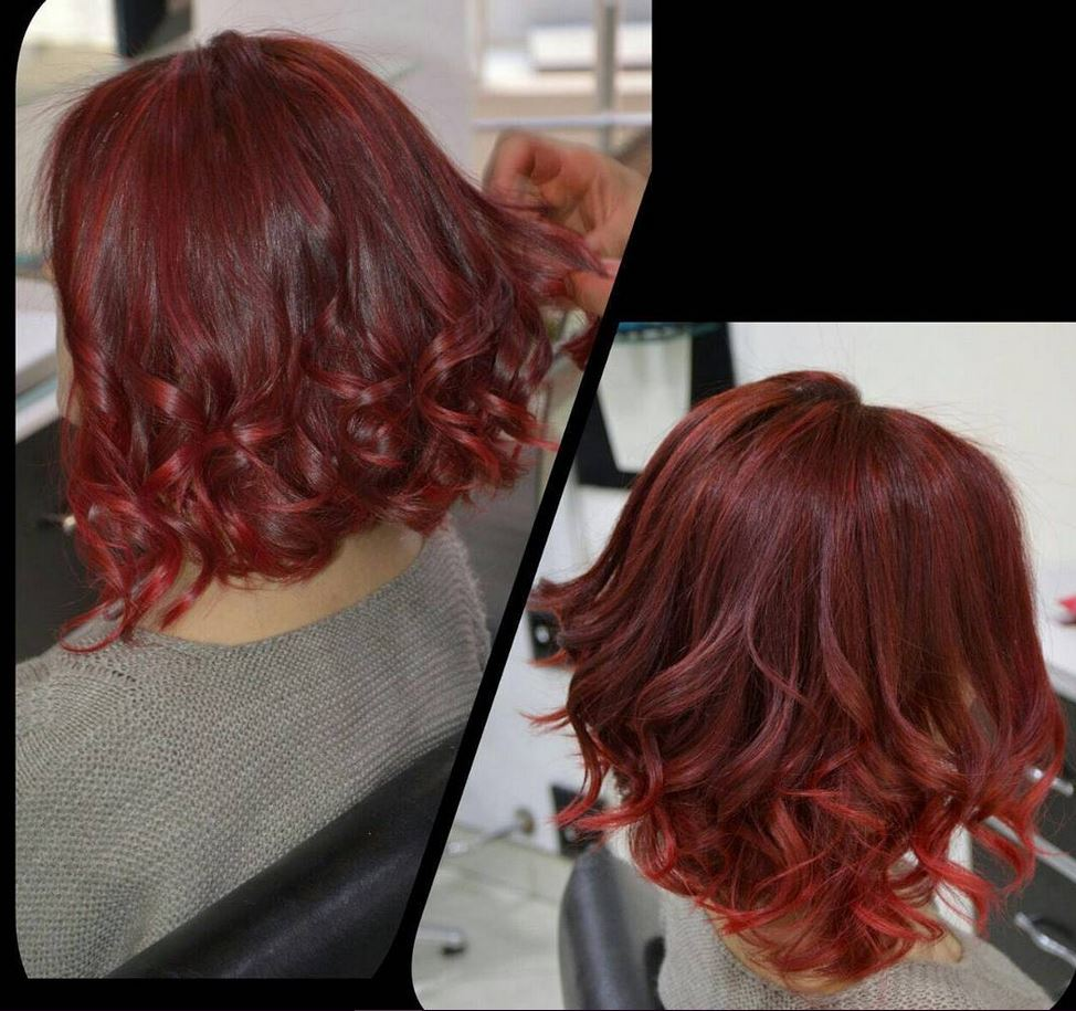 Kızıl Kıvırcık Saç Modelleri - Red Curly Hair Color Ideas - Best Hairstyles