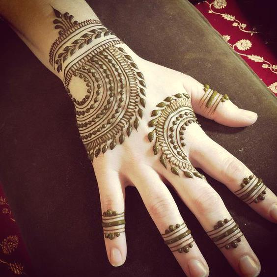 Modish Henna Tattoo Designs (mehndi design)