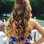 Uzun Abiye Saç Modelleri - Long wavy prom hairstyles - 2