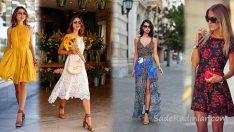 2019 Elbise Kombinleri Yaz Modası İçin Şık Kıyafetler