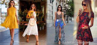 2018 Yazlık Elbise Modelleri, Şıklığına Düşkün Kadınların Vazgeçilmezi