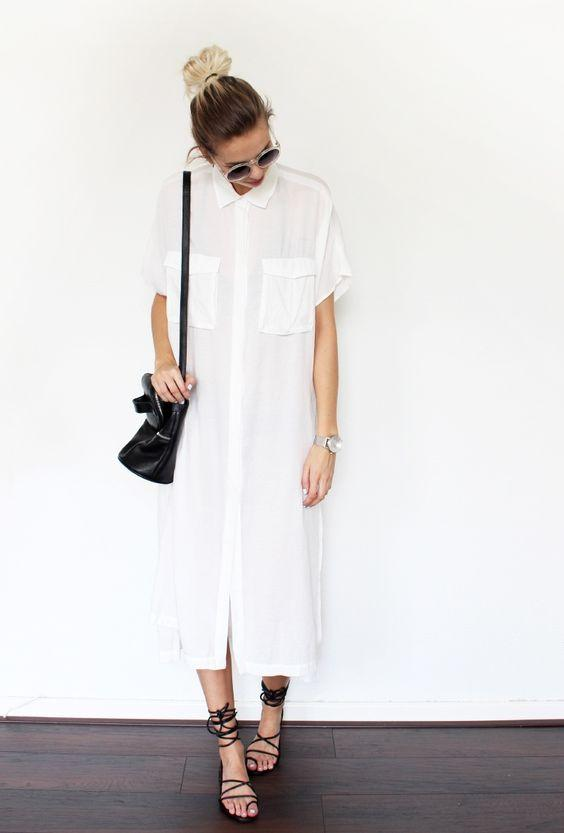 2017 Gömlek Elbise Modelleri ve Şık Kombin Önerileri