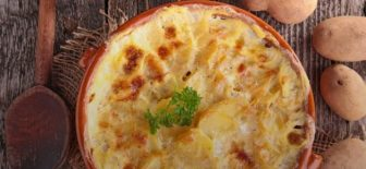 Fırında Kremalı Patates Tarifi