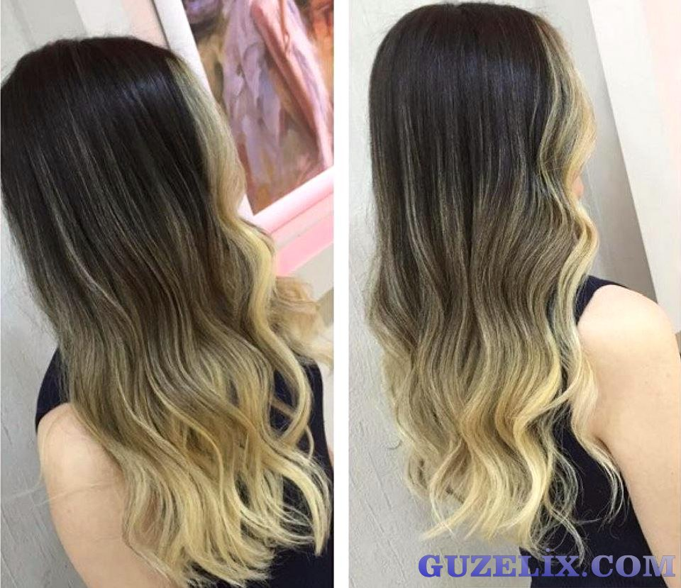 Ombre Sa 231 Modelleri Ombre Hair Blonde Ombre Hair Brown