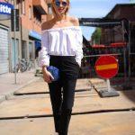 En Şık Omuz Açık Bluz ve Elbise Modelleri - Stupendous-Off-The-Shoulder-Top-Dress