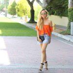 En Şık Omuz Açık Bluz ve Elbise Modelleri - Stylish-Off-The-Shoulder-Top-Dress