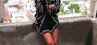 En Şık 30 Omuz Açık Bluz ve Elbise Modelleri