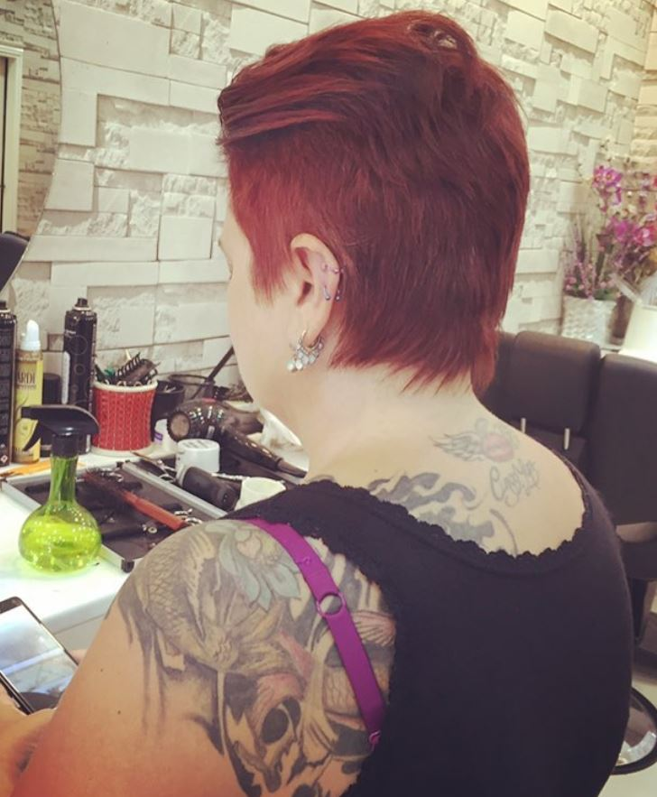 Kısa Kızıl Saç Modelleri Red Short Hairstyles Sadekadınlar
