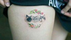 Kedi dövmeleri – Kedi Tattoo – Kedi Dostlarına En Güzel Kedi Dövmesi Modelleri