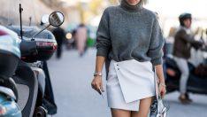 Sonbahar Kış Bayan Triko Kazak Modelleri
