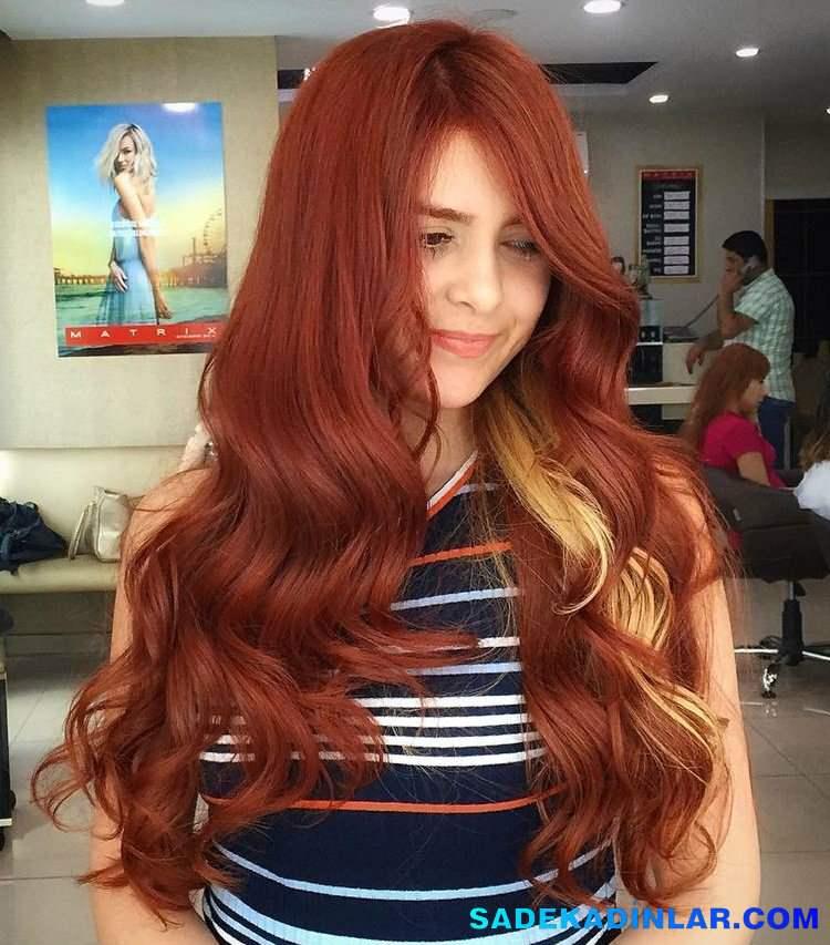 84d693d66a561 En Son Moda Ombre Saç Modelleri – Ombre Saç Renkleri – Hair Color Ideas 183