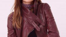 Sonbahar İçin En Şık Bayan Deri Ceket Modelleri