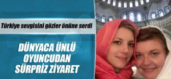Katheryn Winnick İstanbul'da Camileri Gezdi