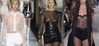 Gögüsleri Açıkta Bırakan Free Nipples Transparan Elbiseler 2017