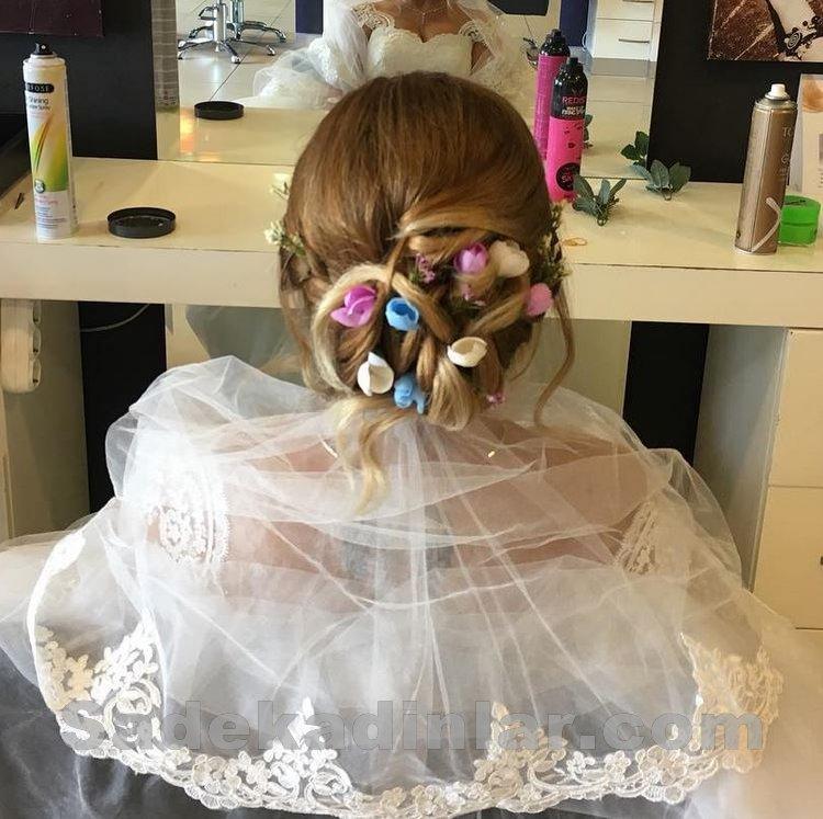 Gelin Saç Modelleri