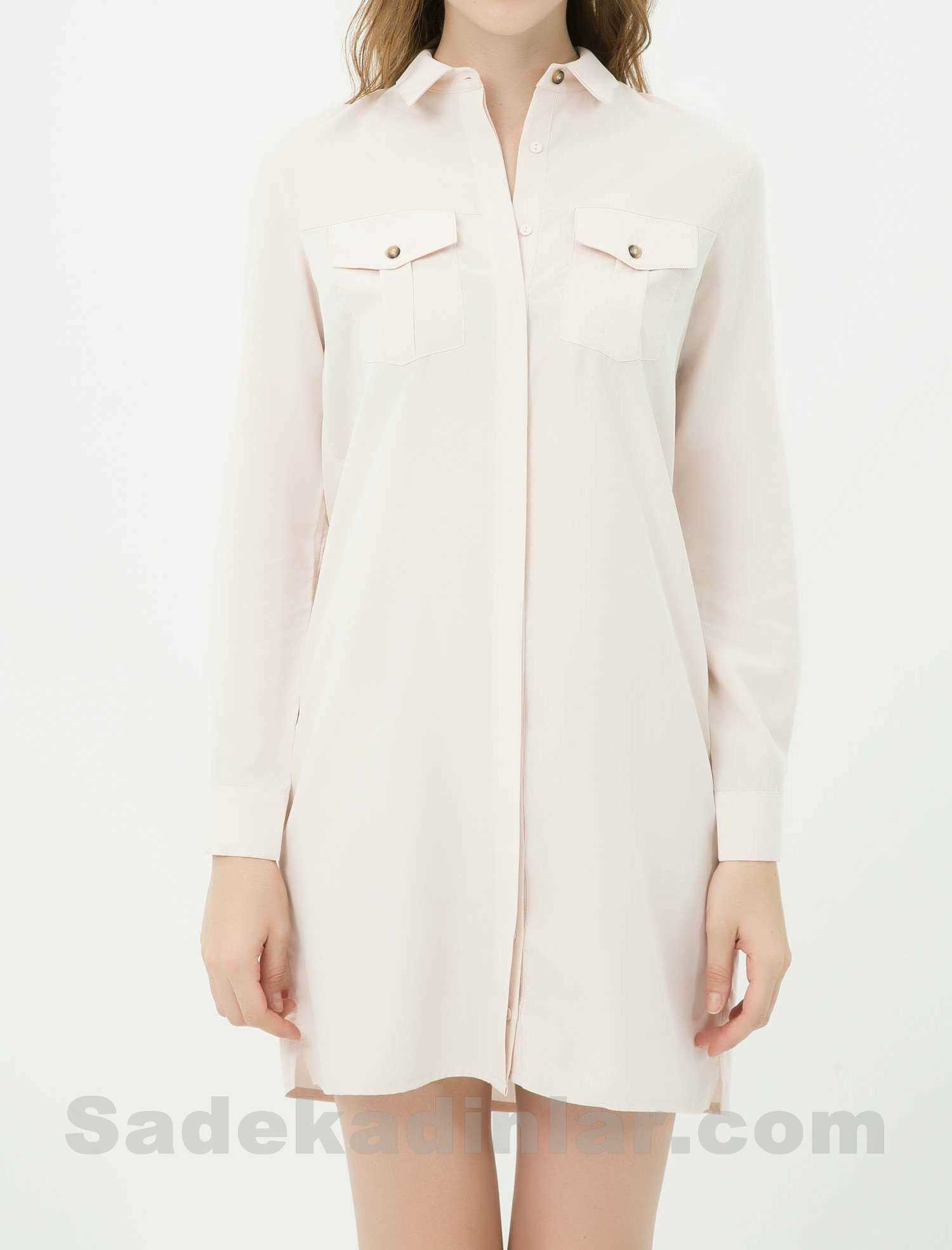 2019 Modası Gömlek Elbiseler