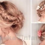 Gelin Saç Modelleri - Gelin Başı