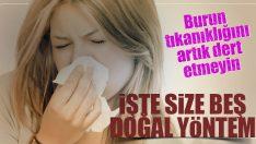 Grip ve Nezle İle Oluşan Burun Tıkanıklığına Doğal Yöntemler