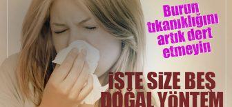 Grip ve Nezle İle Oluşan Burun Tıkanıklığına Ne İyi Gelir?