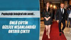 Ünlü Oyuncu Esra Bilgiç ve Yıldız Futbolcu Gökhan Töre Nişanlandı