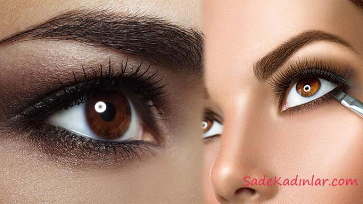 Kahverengi Göz Makyajı Derin ve Etkileyici Bakışlar İçin