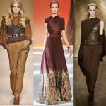2017'nin En Şık Toprak Rengi Elbise Kıyafet Kombinleri_Trend