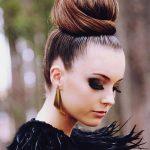 2018 Saç Modelleri Yılbaşı Parti Saçı Modelleri
