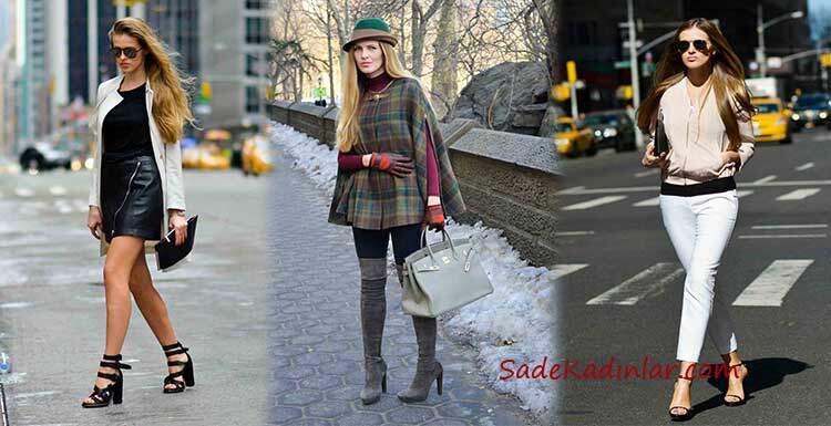 2020 Kış Modası, Bu Sonbahar Kış İçin Sokak Stili Kombinleri