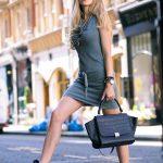 2018 Gece Elbiseleri Rahat Elbise Modelleri - Ayakkabı Giussepe Zanotti , elbise Zadig & Voltaire, çanta Celine