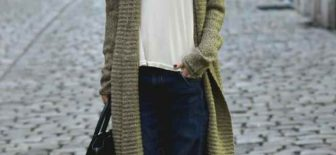 Son Moda Uzun Hırka Modelleri – Hırka Kombinleri