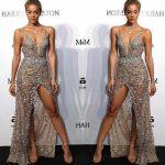 2018 Gece Elbiseleri Taş İşlemeli Askılı Abiye Elbise Modelleri