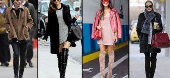 En Trend Dizüstü Çizmeler ve Kombin Öerileri