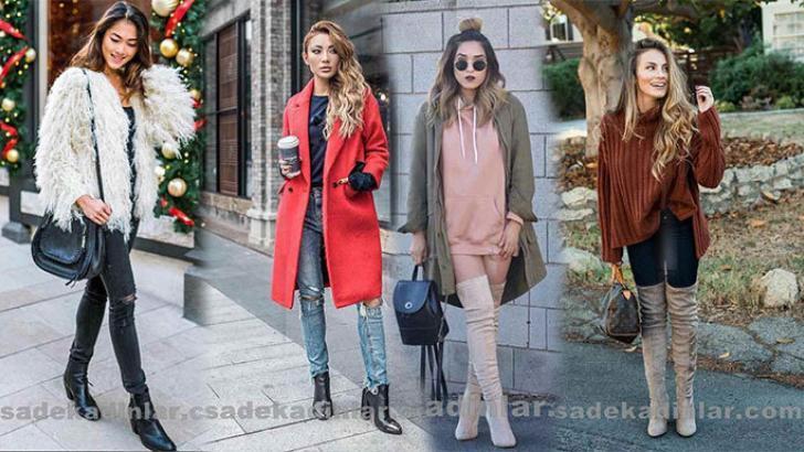 2019 & 2020 Sonbahar Kış Modası Şık Kıyafet Kombinleri