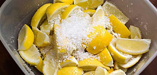 Limon ve Tuz Karışımı Doğal Tüy Dökücü