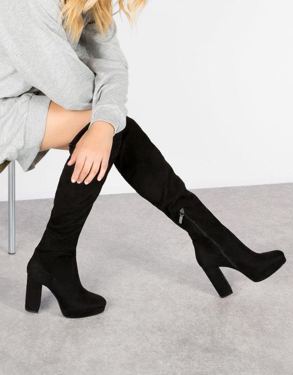 Bershka Çizme Modelleri Bayan