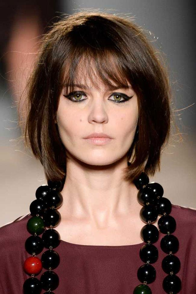 Kahküllü Bob Kesim Saç Modelleri 2017'de Yine Trend