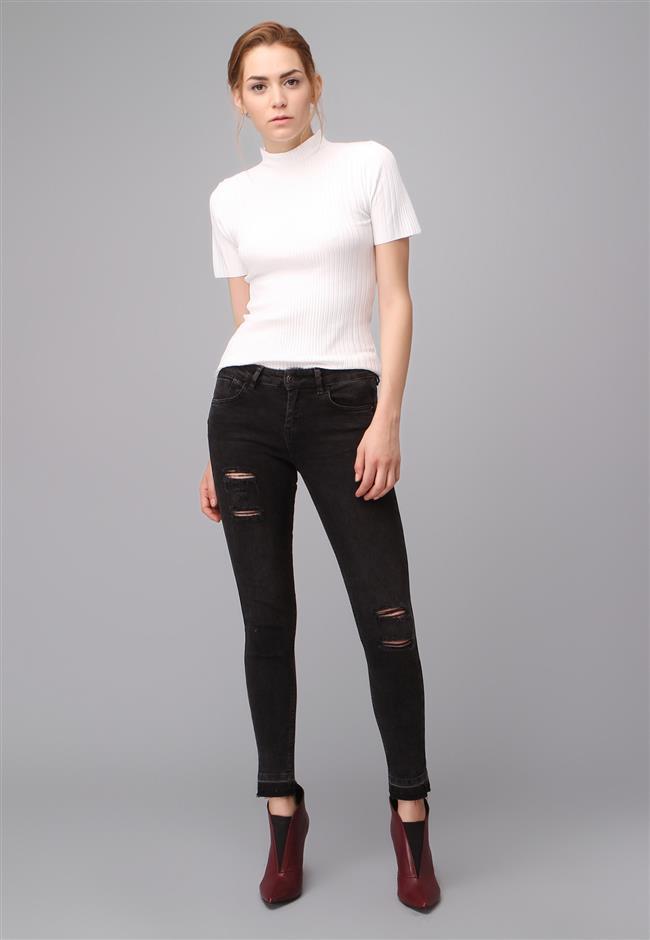 2017 adL Yırtık Kot Pantolon Modelleri ve Kot Kombinleri