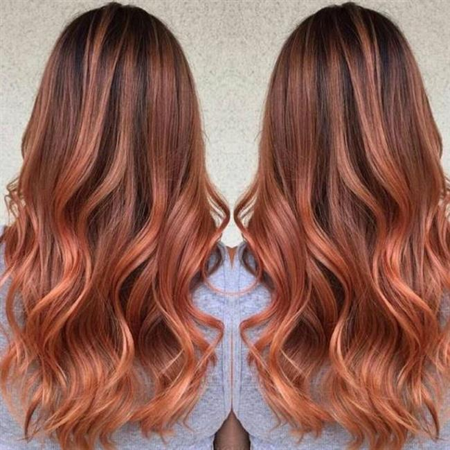 2017'ninTrend Saç Rengi: Kan Portakalı Saç Renkleri, Blorange