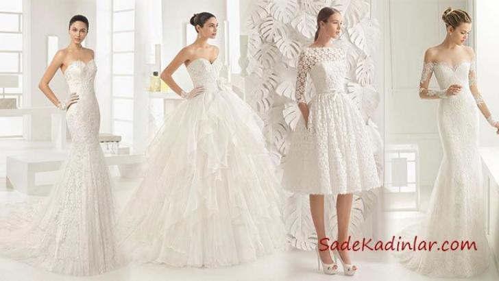 fd6ba60936eda Berta ve Rosa Clara 2019 Muhteşem Gelinlik Modelleri | SadeKadınlar ...