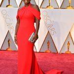 Oskar 2017 Ünlülerin Kırmızı Halı Elbiseleri_Viola Davis