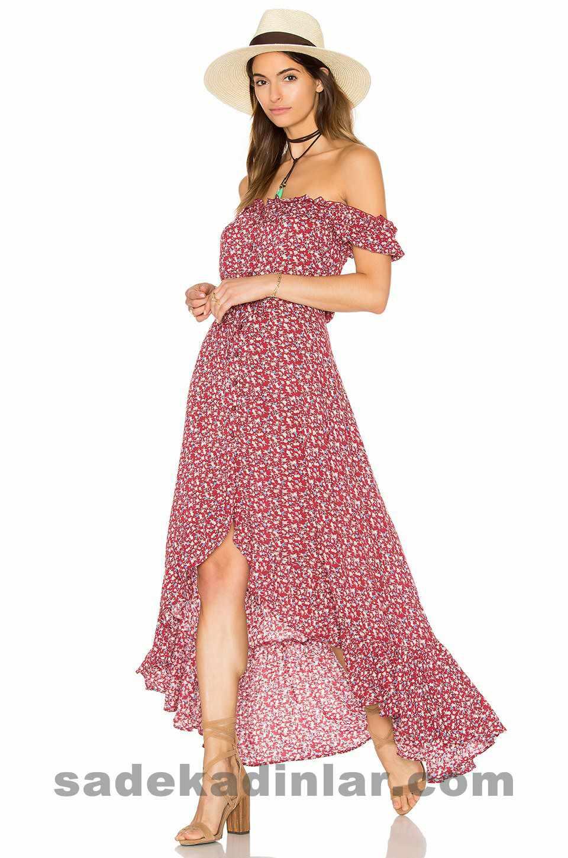 Uzun Elbise Modelleri, En Yeni Yazlık Elbiseler 2017 & 2018