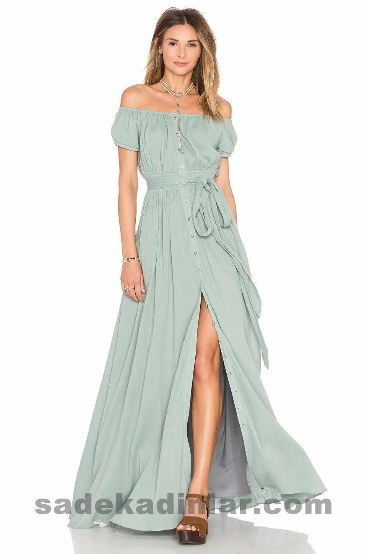 Yazlık Düğün Elbiseleri 2017 2018