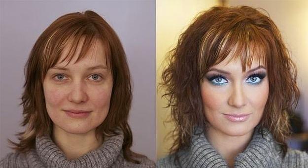 Rus Kadınlar Meğerse Profesyonel Makyajla Güzelmiş Sadekadınlar
