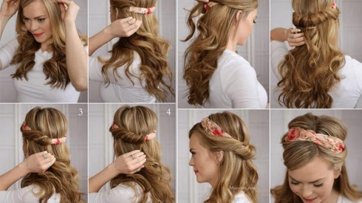Sevgililer Günü İçin Kolay Örgü ve Topuz Saç Modelleri Yapımı