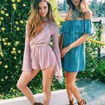 Yazlık Elbise Modelleri ve Şık Kıyafet Kombinleri Şort Tulum Ve Düşük Omuz Elbise Modelleri