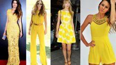 2018 Moda Renkleri ve Şık Elbise Modelleri İle Yaz Modası
